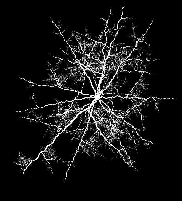 artystyczna wizja neuronów